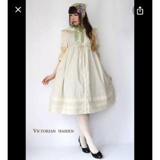 ヴィクトリアンメイデン(Victorian maiden)のヴィクトリアンレーシーブラウスワンピース(ロングワンピース/マキシワンピース)