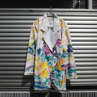 アメリヴィンテージ(Ameri VINTAGE)のVintage Hand painted tailored jacket(テーラードジャケット)