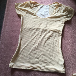 フェリシモ(FELISSIMO)のフェリシモ 背中アセトリ Tシャツ(Tシャツ(半袖/袖なし))