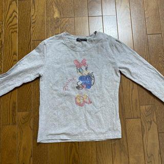 ドルチェアンドガッバーナ(DOLCE&GABBANA)のラインストーンロンTシャツ(Tシャツ(長袖/七分))