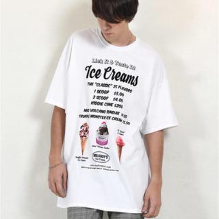 ミルクボーイ(MILKBOY)の【タグ付き未使用】MILKBOY  ICE CREAMS TEE(Tシャツ/カットソー(半袖/袖なし))