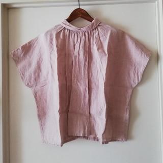 ネストローブ(nest Robe)の百合子様専用 ネストローブ サンプル品 リネンピンクブラウス(シャツ/ブラウス(半袖/袖なし))