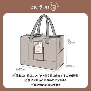 スリーコインズ(3COINS)の再販!!【L】クリアボックスバッグ 新品·未使用 3COINS(押し入れ収納/ハンガー)