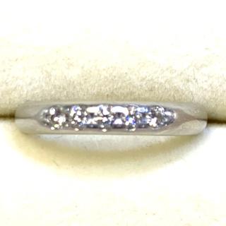 ミキモト(MIKIMOTO)のミキモト 指輪 0.15ct pt950 8号(リング(指輪))