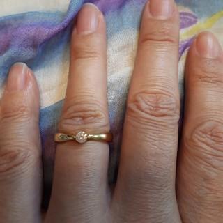 K18 ダイヤモンド?リング(リング(指輪))