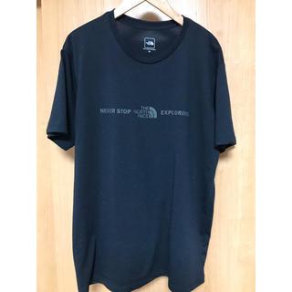 ザノースフェイス(THE NORTH FACE)のTHE NORTH FACE ノースフェイス ロゴプリント Tシャツ ブラック(Tシャツ/カットソー(半袖/袖なし))