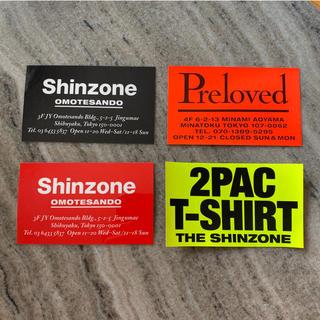 シンゾーン(Shinzone)のshinzone preloved ステッカー (その他)
