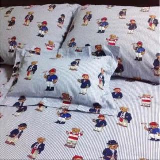 ラルフローレン(Ralph Lauren)の専用  ラルフローレン 枕カバー キッズ 未使用 ポロベア ピローケース(シーツ/カバー)