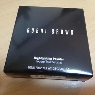 ボビイブラウン(BOBBI BROWN)のボビイブラウン ハイライティングパウダー #Pink Glow 8g(フェイスパウダー)