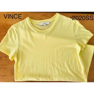 ビンス(Vince)のVince(ヴィンス)  クルーネックTシャツ レモンイエロー【2020SS】(Tシャツ(半袖/袖なし))