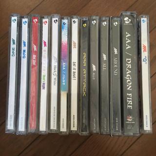 トリプルエー(AAA)のAAA CDシングルアルバムまとめ売り(ポップス/ロック(邦楽))
