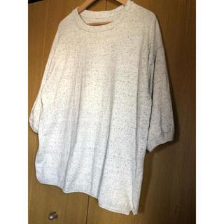 ヤエカ(YAECA)のcrepuscule クレプスキュール ニットTシャツ(Tシャツ/カットソー(半袖/袖なし))