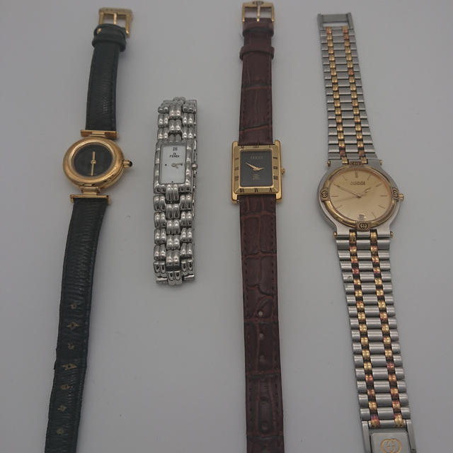 Gucci(グッチ)の時計4本 GUCCI FENDI 腕時計 レディースのファッション小物(腕時計)の商品写真