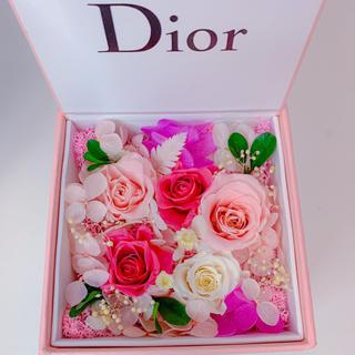 ディオール(Dior)のDior 非売品 ブリザードフラワーボックス(プリザーブドフラワー)