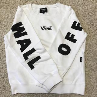 ヴァンズ(VANS)のVANS 白トレーナー 130㎝(Tシャツ/カットソー)