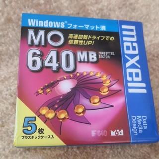 マクセル(maxell)の〘 値下げ〙maxell MO 640mb(PC周辺機器)