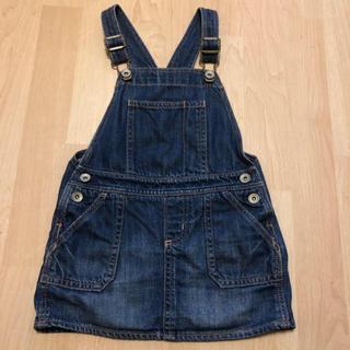 ベビーギャップ(babyGAP)のbaby Gap デニムジャンパースカート 3years(ワンピース)