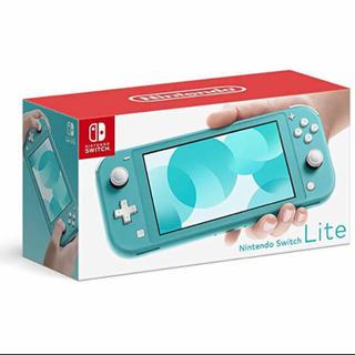 ニンテンドースイッチ(Nintendo Switch)の【新品】任天堂 Nintendo Switch Lite ターコイズ (家庭用ゲーム機本体)