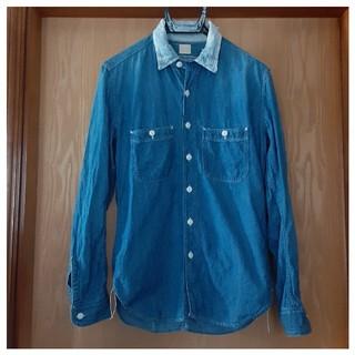 マーカウェア(MARKAWEAR)のMARKAWARE マーカウェア ダメージ加工デニムシャツ(シャツ)