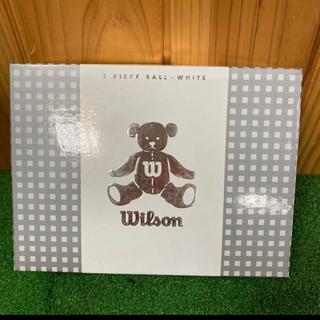 ウィルソン(wilson)の新品未使用☆ウィルソン☆ゴルフボール☆白(その他)
