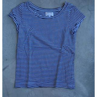 オクラ(OKURA)のOKURA ボーダー Tシャツ(Tシャツ(半袖/袖なし))