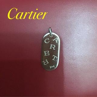 カルティエ(Cartier)のカルティエ キーホルダー ペンダントトップ ネックレス(キーホルダー)