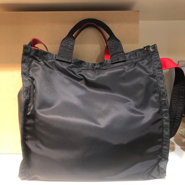 Christian Louboutin(クリスチャンルブタン)のルブタン  メンズ ルービックトートバッグ ブラック 319523 未使用品 メンズのバッグ(トートバッグ)の商品写真