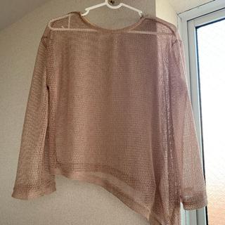 シースルー ニット ANAP Gu GRL H&M HOTPING ZARA(Tシャツ(半袖/袖なし))