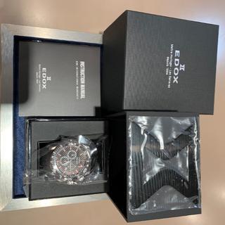 エドックス(EDOX)のエドックス|クロノオフショア1 クロノグラフ - 10221-3-NIRO2(腕時計(アナログ))