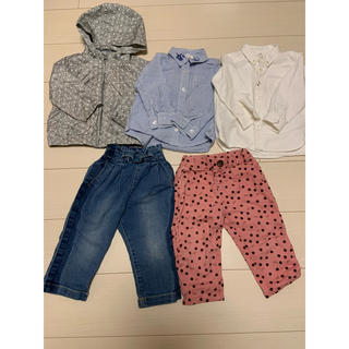 ベビーギャップ(babyGAP)の子供服まとめ売り女の子用 秋物5点セット 90〜95㎝(その他)