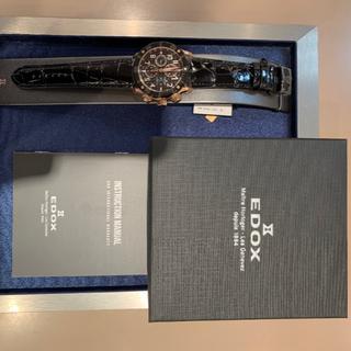 エドックス(EDOX)のEDOX エドックス 01122-37R-NBR8-R 新品未使用(腕時計(アナログ))