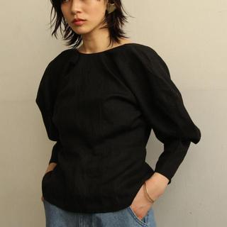 トゥデイフル(TODAYFUL)の最終値下げ【 little $uzie 】puffsleeve jacket(ノーカラージャケット)