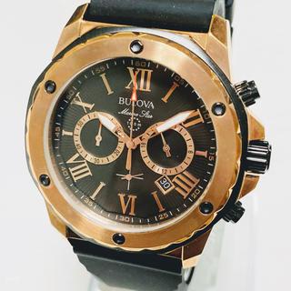 ブローバ(Bulova)の◆激レア◆ BULOVA ブローバ マリンスター クォーツ◆メンズ腕時計◆(腕時計(アナログ))