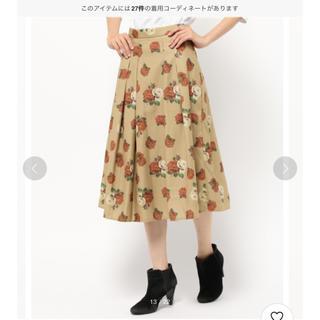 ダズリン(dazzlin)のダズリン 花柄スカート (ひざ丈スカート)