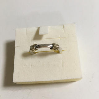 ティファニー(Tiffany & Co.)のティファニー  正規品 k18 750 コンビリング 10号 ✨ 指輪 18金(リング(指輪))