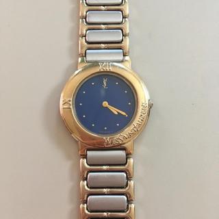 サンローラン(Saint Laurent)のyves saint laurent ヴィンテージ 時計 稼働(腕時計)