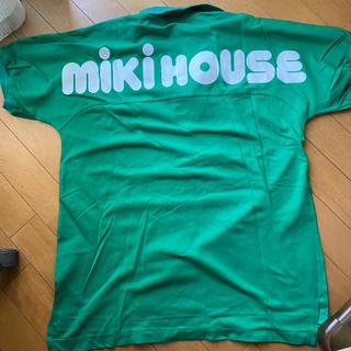ミキハウス(mikihouse)の90's オールド ミキハウス ビッグロゴ メンズ ポロシャツ(ポロシャツ)