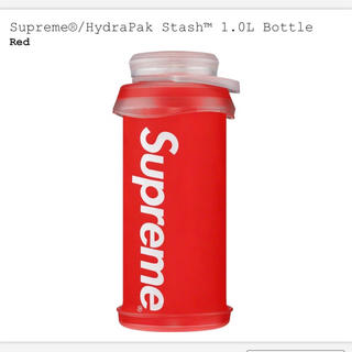 シュプリーム(Supreme)のSupreme®/HydraPak Stash™ 1.0L Bottle 赤(水筒)