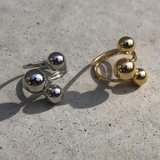 エンフォルド(ENFOLD)のTriple ball silver ring No.154(リング(指輪))