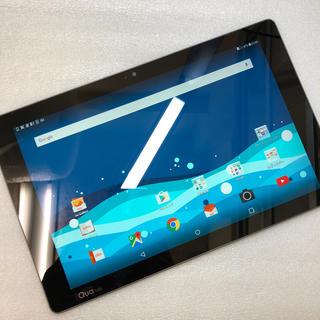 エルジーエレクトロニクス(LG Electronics)のaki947 au Qua tab PZ LGT32 ネイビー ジャンク(タブレット)