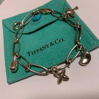 ティファニー(Tiffany & Co.)のティファニー 5連 チャーム ブレスレット A19(ブレスレット/バングル)