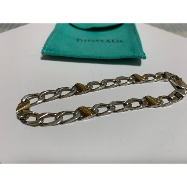 Tiffany & Co.(ティファニー)のティファニー 喜平ブレスレット A20 メンズのアクセサリー(ブレスレット)の商品写真