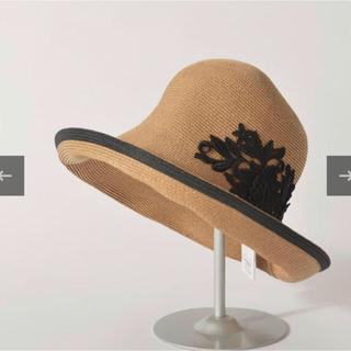バーニーズニューヨーク(BARNEYS NEW YORK)の新品未使用品アシーナニューヨーク 帽子 アメリア(麦わら帽子/ストローハット)