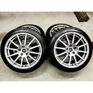 スバル(スバル)のスバル WRX STI  限定車 18インチ純正ホイール  ブリザックVRX2(タイヤ・ホイールセット)