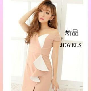 ジュエルズ(JEWELS)のJEWELS バイカラー ピンク ドレス(ナイトドレス)