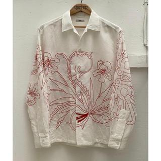 日本未入荷 BODE Floral Redwork Shirt