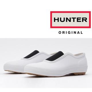 ハンター(HUNTER)の【HUNTER】 レインシューズ プリムソール ホワイト(レインブーツ/長靴)