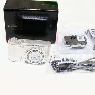 カシオ(CASIO)の超極上品 自撮り CASIO カシオ EX-ZR3200 ホワイト(コンパクトデジタルカメラ)