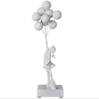 メディコムトイ(MEDICOM TOY)の正規品 banksy flying balloons girl white (キャラクターグッズ)