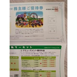 ホンダ 株主優待券 (遊園地/テーマパーク)